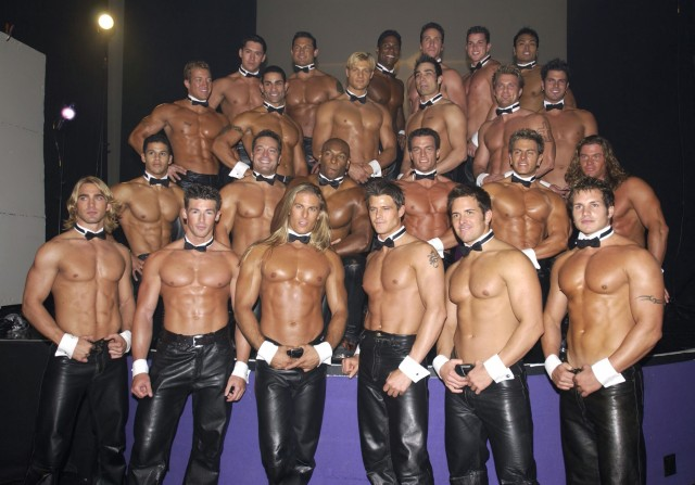 Chippendales' Calendar Photoshoot in Las Vegas